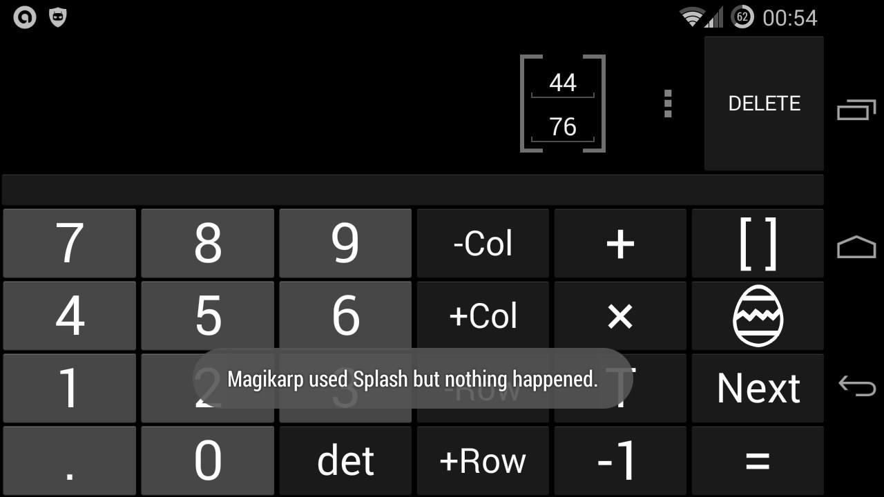 A Pokemon Easter Egg in Android 4 4 Calculator App - Disruptively